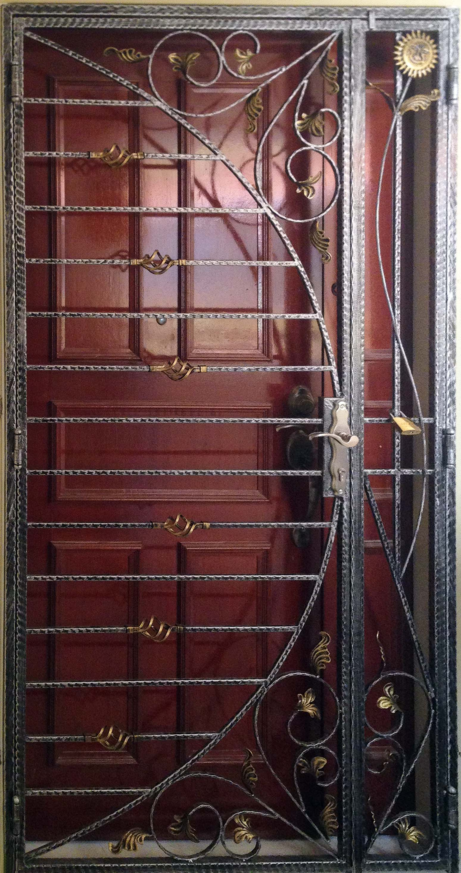 2928 #886843 High Quality Wrought Iron Door Gates TBT Team Works pic Iron Gates And Doors 7811548