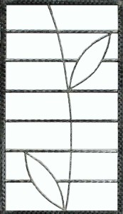 Wrought Iron Grille WG2