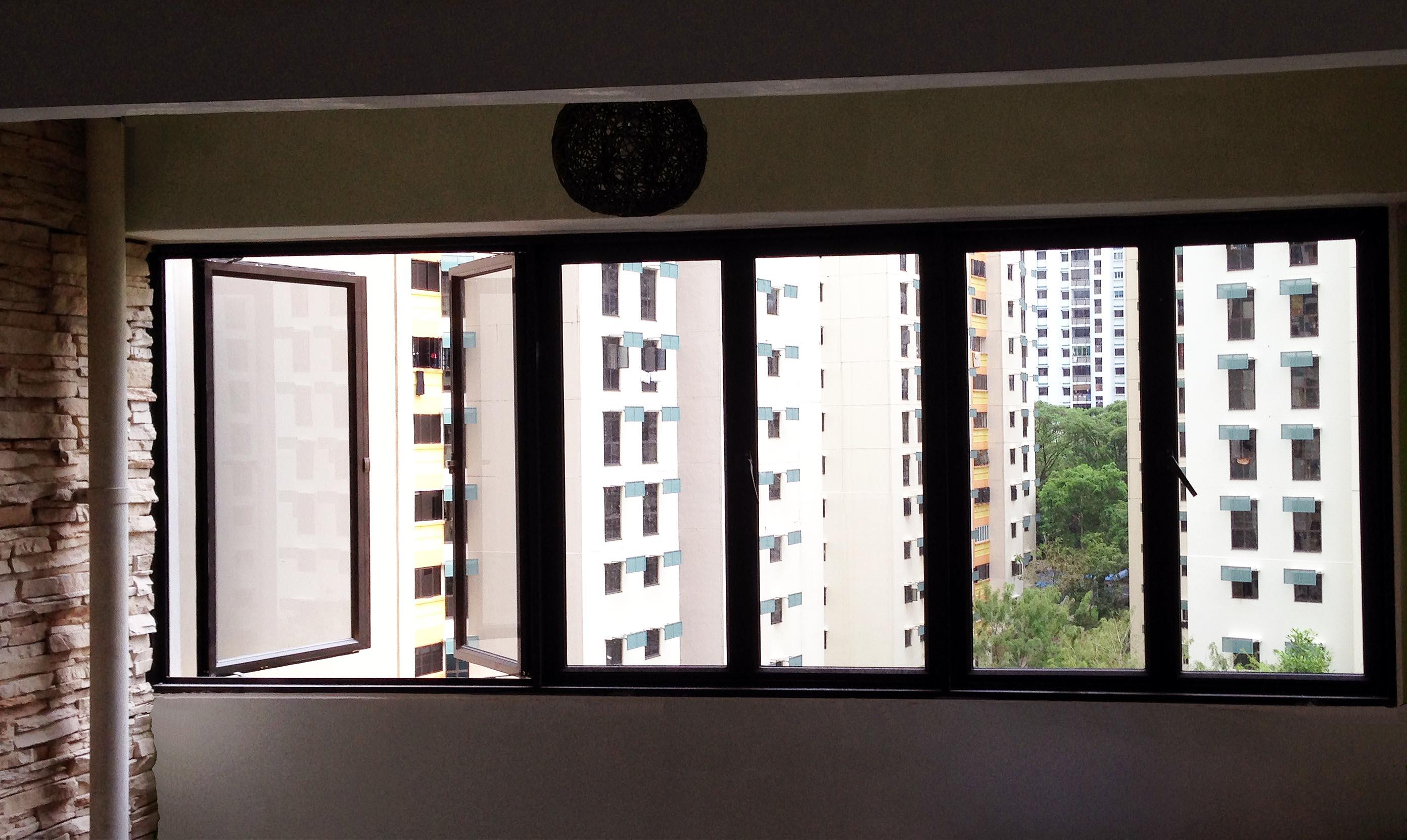 High Quality Aluminium Windows Tbt Aluminium Works