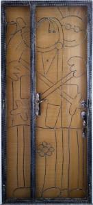 Wrought Iron Door Gate MB100