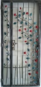 Wrought Iron Door Gate MB32