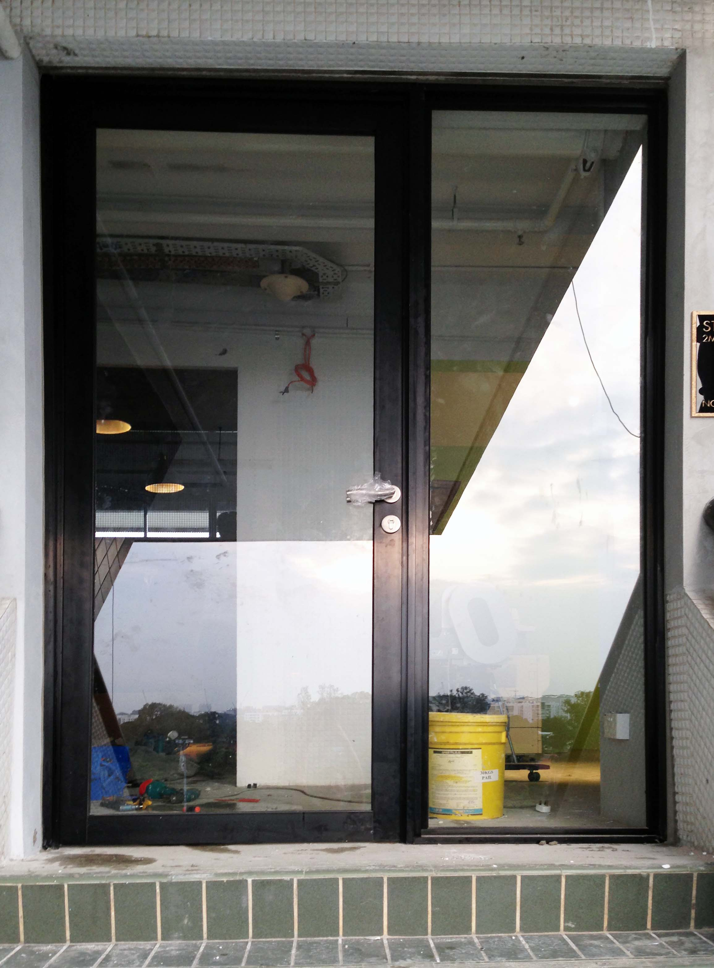 Aluminium Doors Heavy Duty Tbt Aluminium Works
